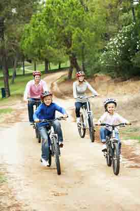 Biking Family Vacation