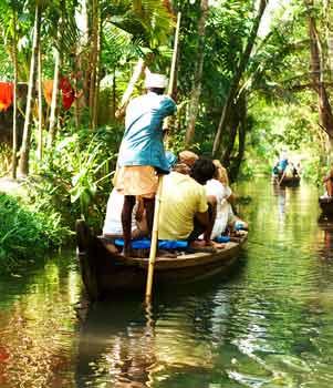 Kerala River, India