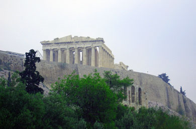 The Parthenon , Athens Greece