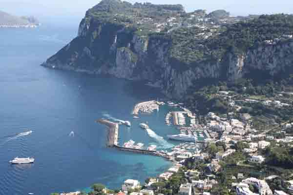 Europe Sailing, Isle of Capri, Italy