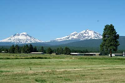 Three Sisters - Oregon