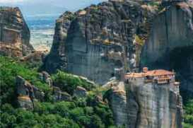 Roussanou in Meteora, Greece
