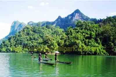 The Ba Be Lakes, Vietnam