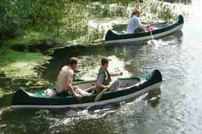 River Obra, Poland