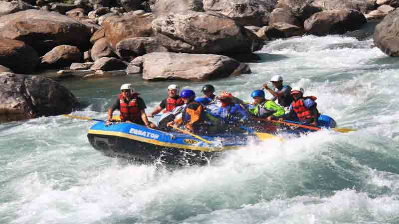 Asia White Water Rafting Trips