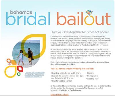 Bahamas Bridal Bailout