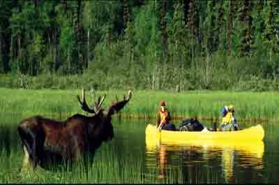 The Bowron Lakes, Canada