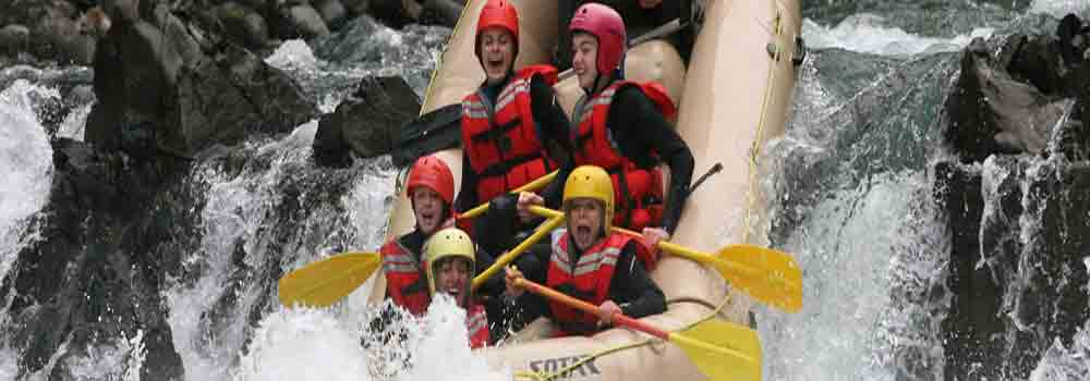 Canada White Water Rafting Trips