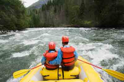 Canada White Water Rafting
