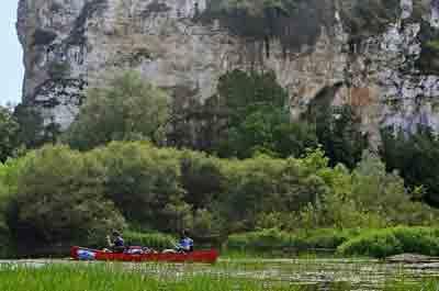 The Dordogne River, France
