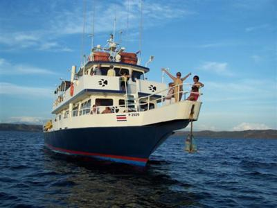 Our Big Boat for Thursday trips and Sunset trips