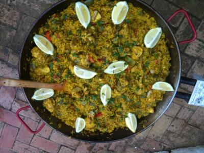 Paella and tapas cookery classes