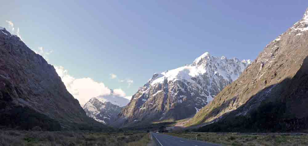 The Milford Road - New Zealand