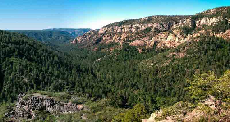 Oak Creek Canyon Road, Arizona