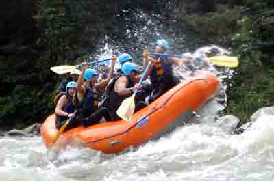 South America White Water Rafting