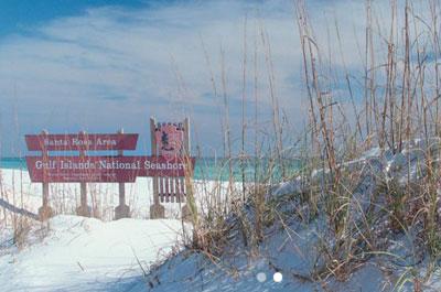 National Seashore in Pensacola, Florida