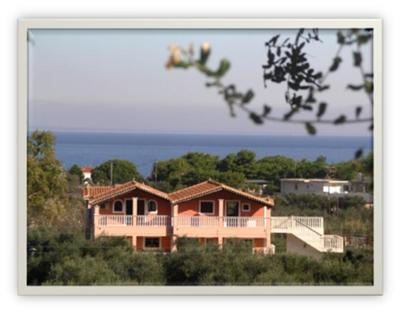 Panoramic view of the Ionian Sea