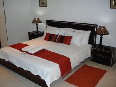 All rooms have double beds