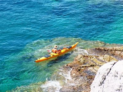 Kolocep island sea kayaking